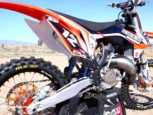 Motocross Action tests a trick 2014 KTM 125SX