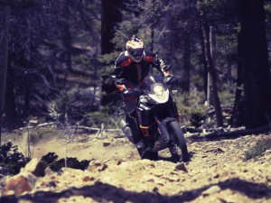 Mike Lafferty riding the KTM 1190 Adventure R