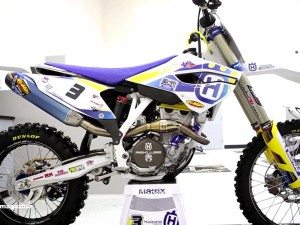 Mike Brown's Factory Husqvarna FE350