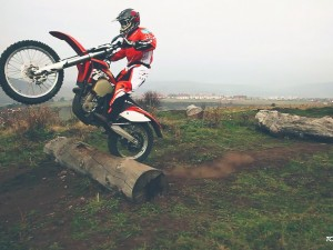 Enduro Training Log Jump for Experts & Pro´s