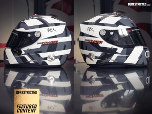 KOOP Kustoms – Andre Lotterer helmet
