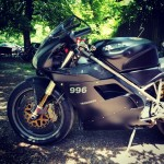 Nice #996 #ducati I saw yesterday. Always had a bit of a soft spot for this bike.