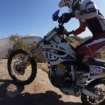 Riding with Zipty Husqvarna's Justin Morgan