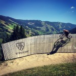Riding #saalbach #dh and freeride lines today on my #29er and it's handling it amazingly well!