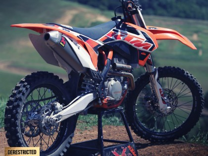 2015 KTM 350 SX-F review (VS 2014 450 SX-F)