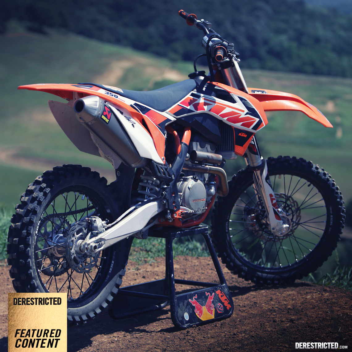 2015 KTM 350 SX-F review (VS 2014 450 SX-F) | DERESTRICTED