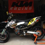 Custom tuned KTM 690 SMC – Michael Capuchino