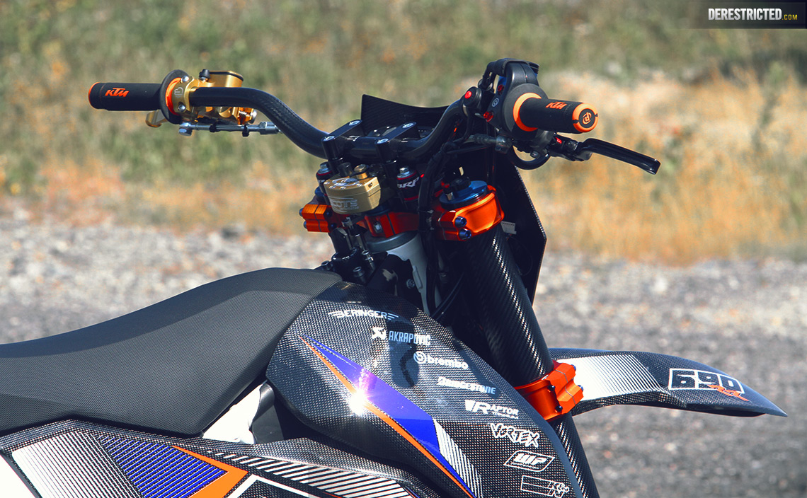 Ktm Smc 690 Rr Dario Dee Custom Build Derestricted