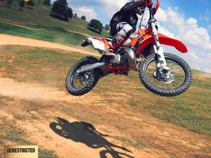 2015 KTM 300 EXC Review @dirtpark