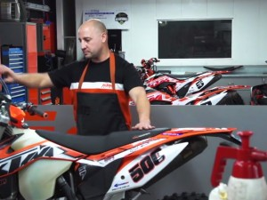 KTM Maintenance – 500EXC Test