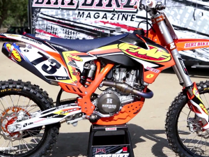 FMF Racing Project Build KTM 450SXF – Hardware