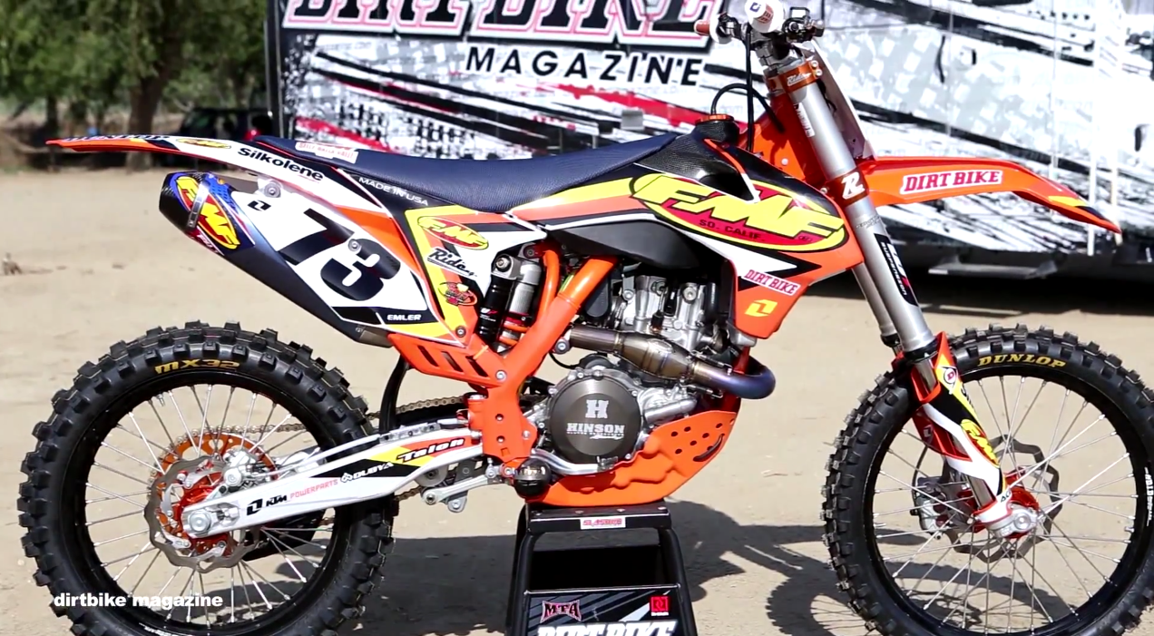 FMF Racing Project Build KTM 450SX