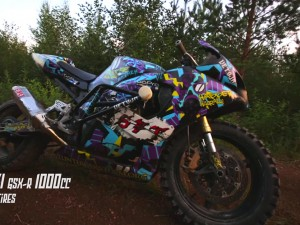 StuntFreaksTeam – Suzuki Gsx-R ON DIRT