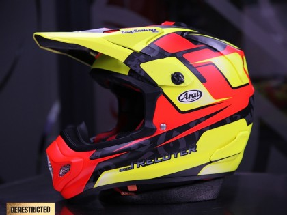 Koop Kustoms – Benoit Treluyer Arai