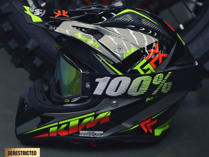 KTM Airoh Aviator 2.1 2015 – Black/Grey
