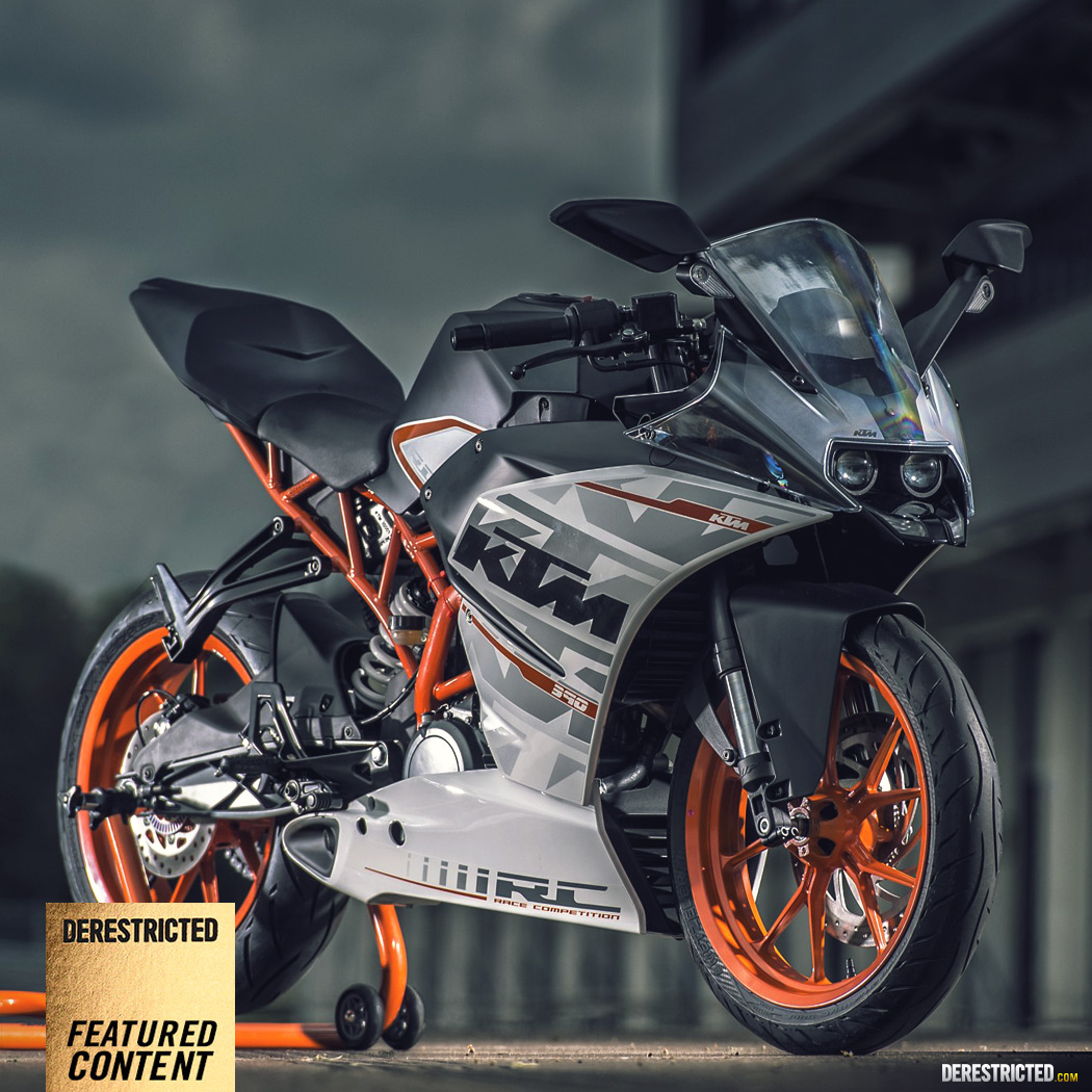 Ktm Rc 390 Action Video And Photos Derestricted