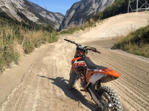 Just look at that track! Mint! @xbowlarena #ktm