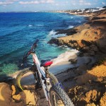 Early morning ride on the #VIPA @momsenbikes #formentera