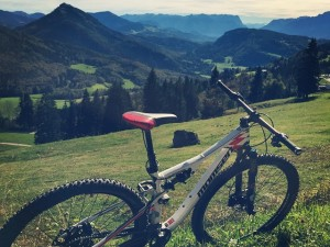 Great weather here for this time of year! #salzburg #vipa #mtb