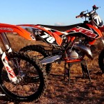 First Ride 2015 KTM 150SX & KTM 250SX 2 strokes