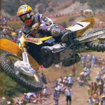 Not sure what year this was and my apologies to the photographer because I have no idea who you are, but this was one of the photos that got me hooked on #Moto as a kid. Back then it was all about guy cooper, #Suzuki the #rm125 and whips!