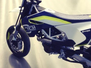 #Husqvarna #701 also back in the #kiskadesign studio :) #supermoto