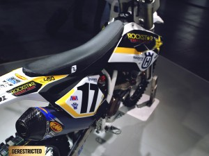 Husqvarna Racing factory bikes at EICMA