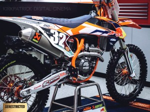 2015 KTM USA Red Bull Factory race team