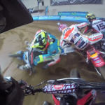 Superprestigio Superfinal GoPro Footage (Márquez vs Mees)