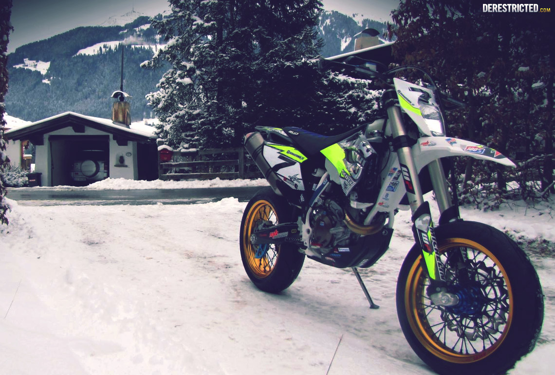 Husqvarna 501 Fe Supermoto Conversion Otto Winter
