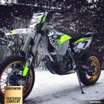 Husqvarna 501 FE Supermoto conversion – Otto Winter