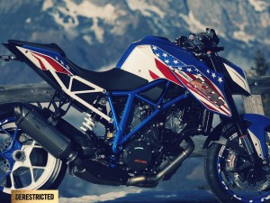 KTM 1290 Superduke R: Patriot edition Custom build – 2rad Hauthaler