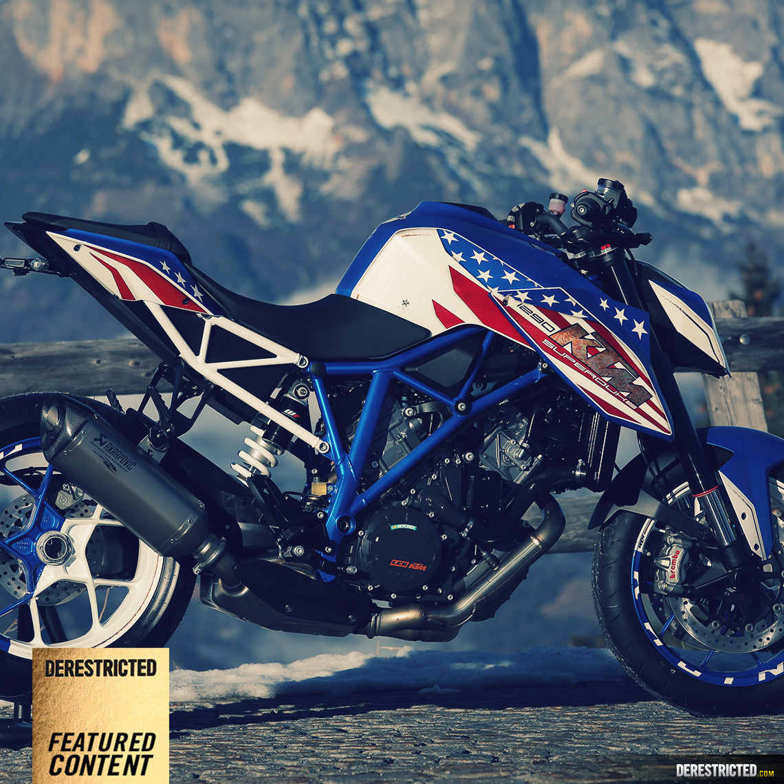Ktm 1290 Superduke R Patriot Edition Custom Build 2rad