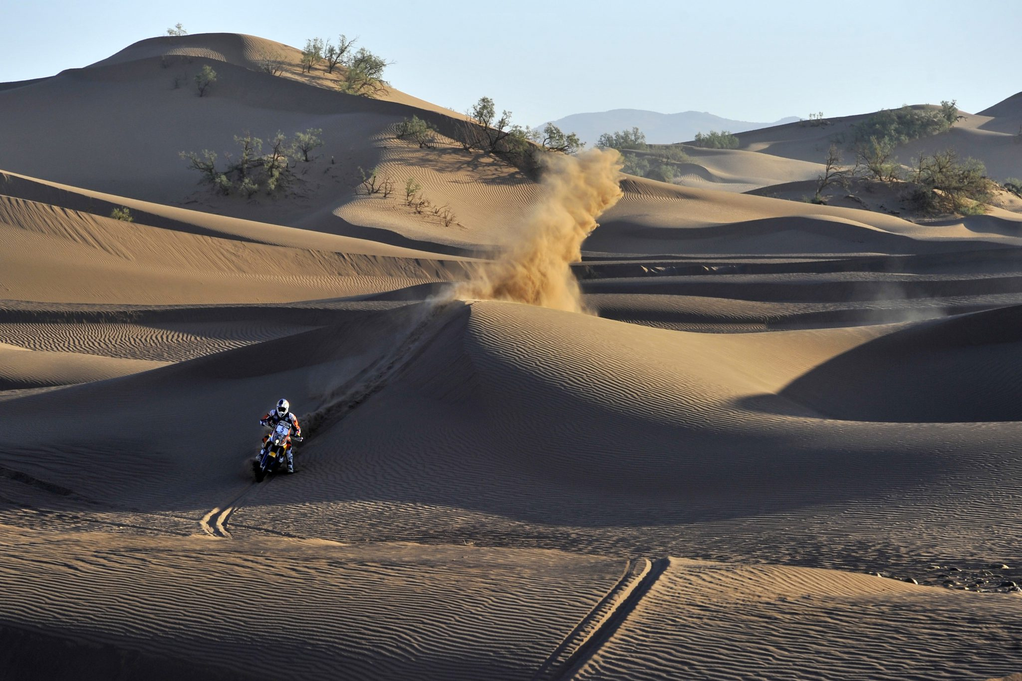 Sam Sunderland performs during Rally Oilibya 2014, Morocco on October 7th,2014