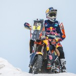 Sam Sunderland Revs Up for Dakar 2015