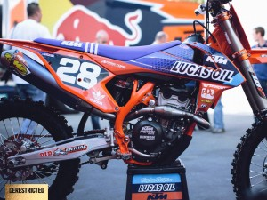 2015 Troy Lee Designs / Lucas Oil / Red Bull / KTM team and BTO Sports-KTM-WPS race teams
