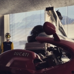 View from the office. #kiskadesign #ducati