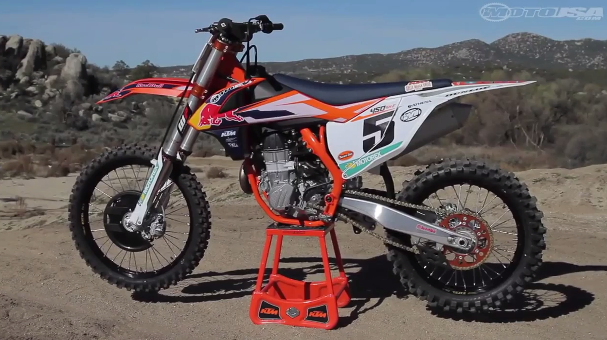 2015 KTM 450 SX-F Factory Edition First Ride