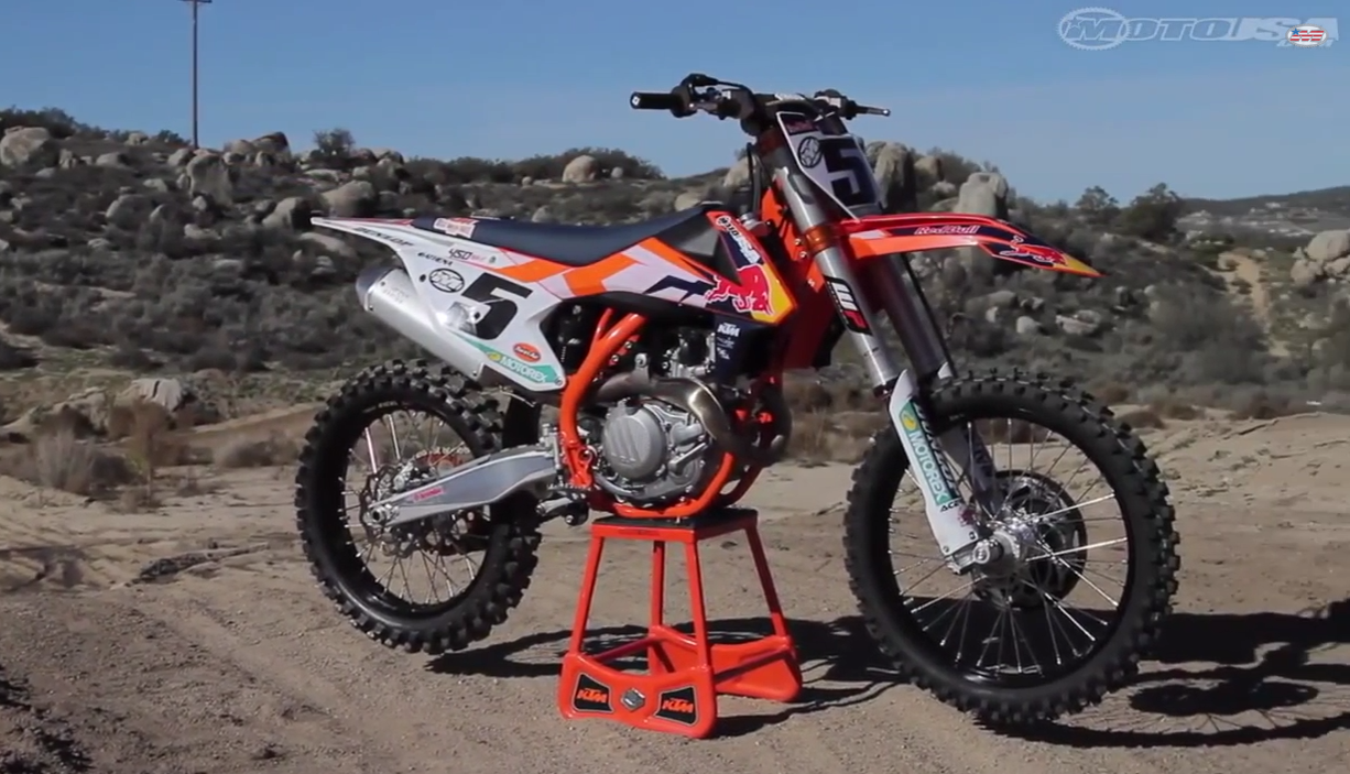 2015 KTM 450 SX-F Factory Edition First Ride2