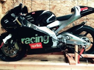 Aprilia RS250 Race Replica for sale – NEW IN CRATE with TAGS