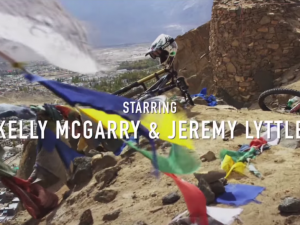 Riding on Thin Air – From 18,380 ft with Kelly McGarry.