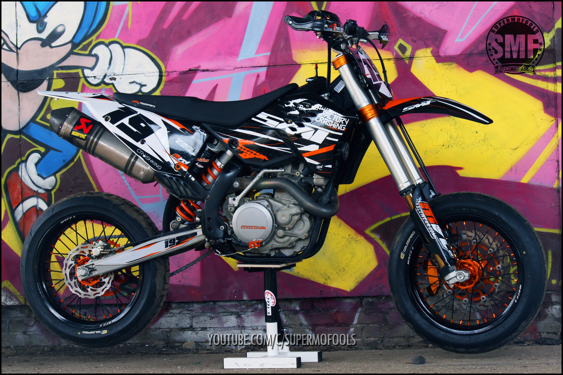 ktm exc530 s custom built supermoto s supermofools derestricted. Black Bedroom Furniture Sets. Home Design Ideas