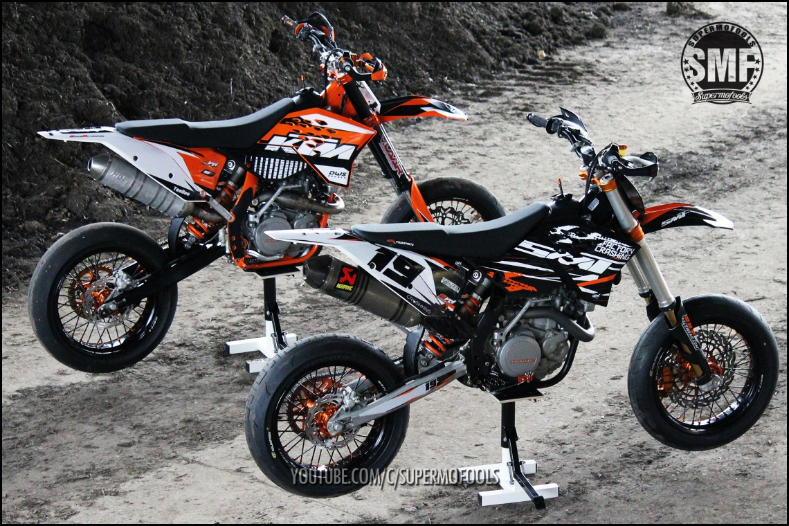 ktm exc530 s custom built supermoto s supermofools. Black Bedroom Furniture Sets. Home Design Ideas
