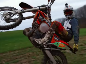 KTM200 Offroad Fun – Ian Howes