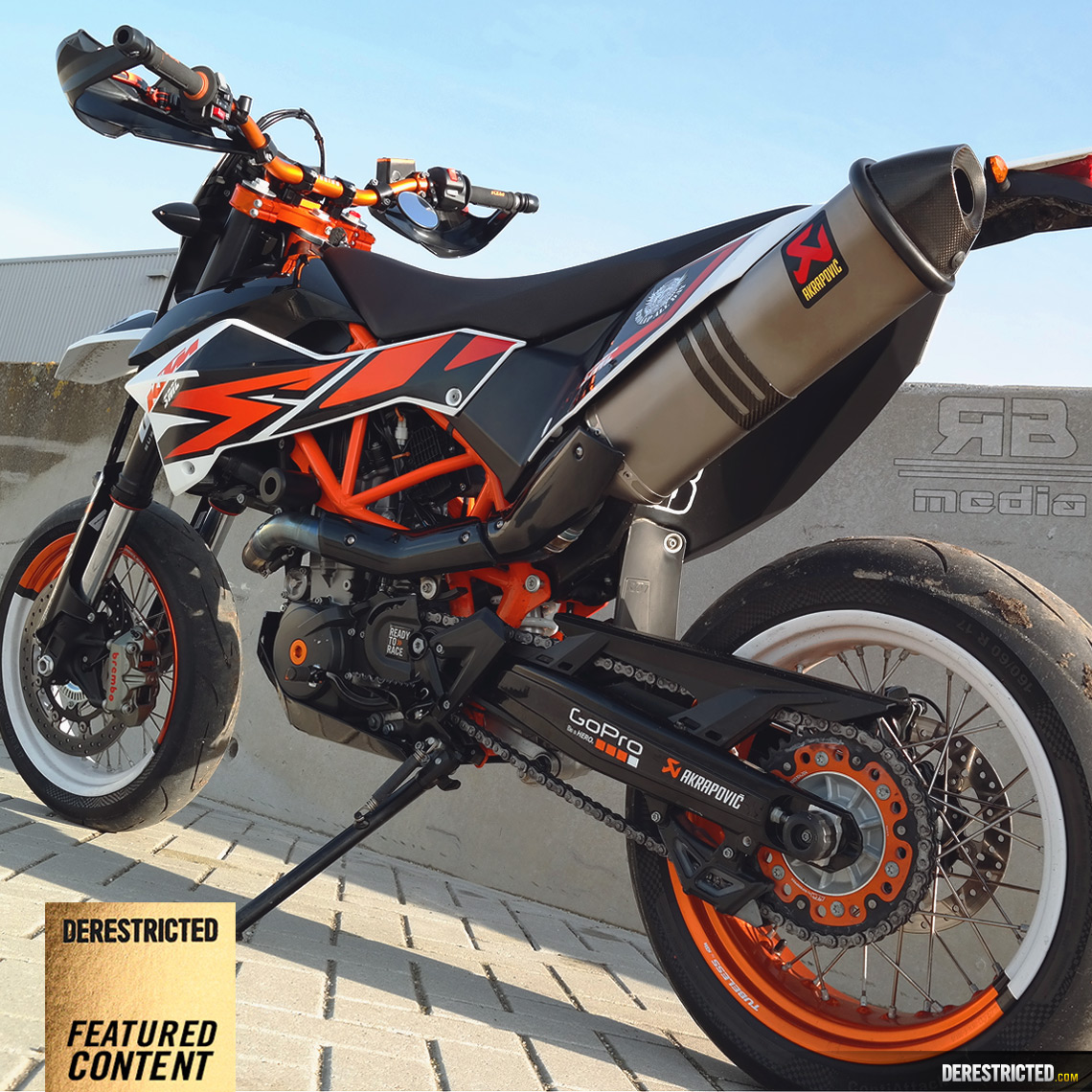 Ktm Lc Akrapovic Exhaust