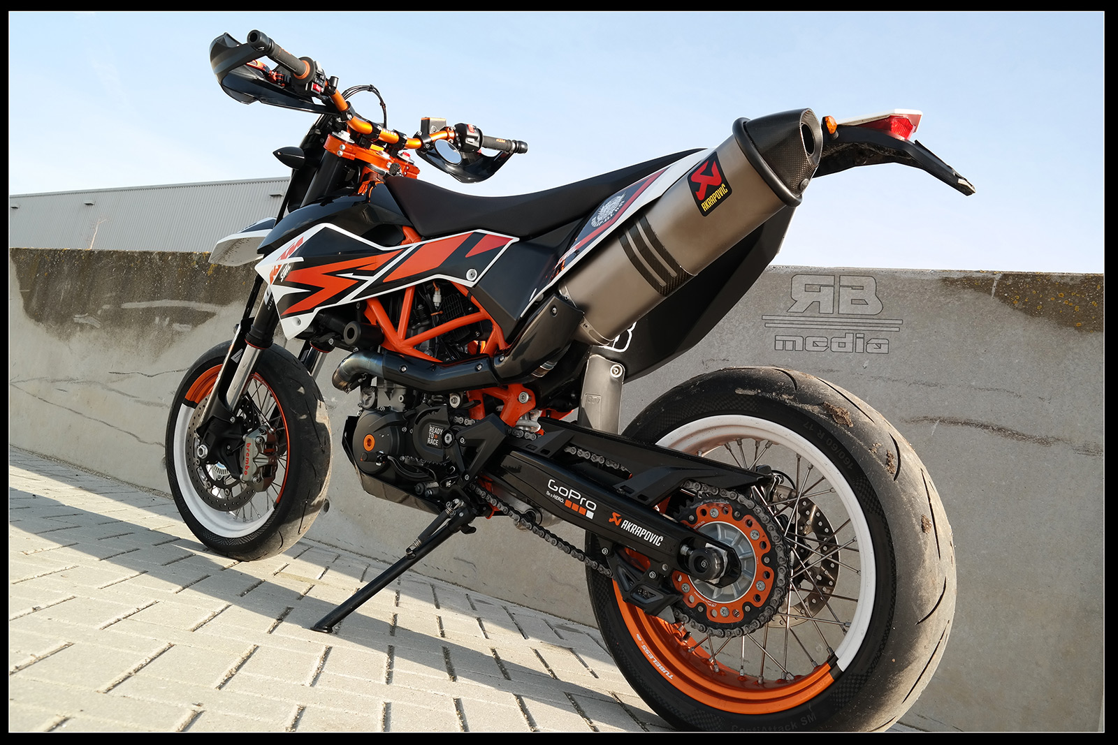 Ktm Handguards With Mirrors