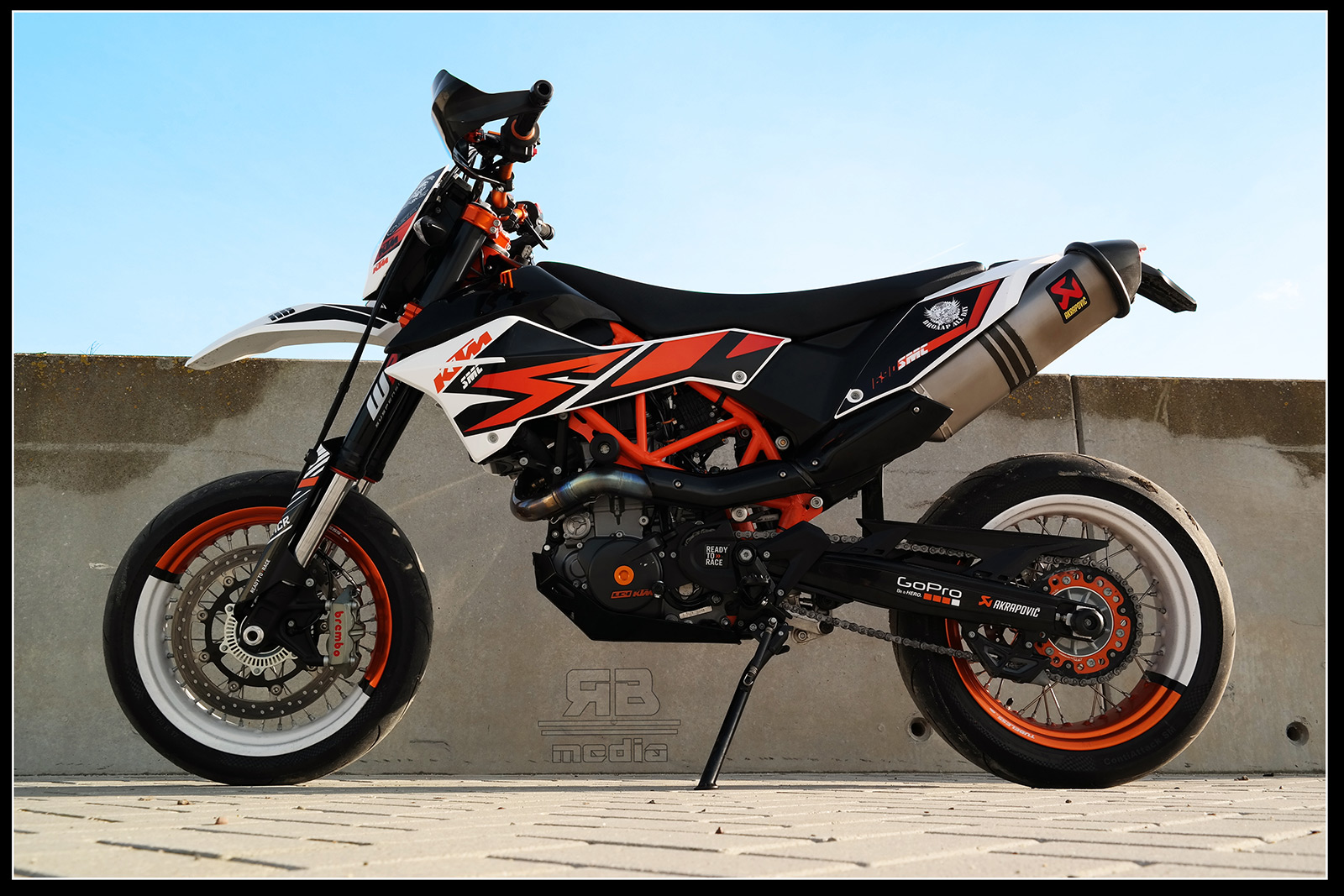 Ktm Smc R Akrapovic Exhaust