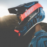Love this photo. Not sure who took it but it's from the photo shoot with the 2015  @teamlapierre #mountainbike team and gives a sneak peak of the new @ride100percent #DH helmet. #design #photography @marcblanchard @mxludo
