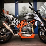 #KTM #690duke with loads of #powerparts and a GFX kit I designed a while back. #Moto #de_portfolio @ktmsalzburg