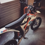 Fully road legal electric #supermoto #KTM #freeride #esm #de_portfolio